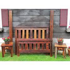 Wood Head And Footboards Amish Made Barn Wood Head And Footboard Set Amish Furniture Amish
