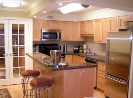 condo kitchen ideas cherry wood nutmeg madison door open concept kitchen ideas sink