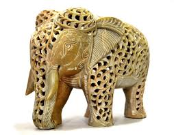 Home Decor Figurines Amazon Com Craftvatika Elephant Decor Figurines Soapstone