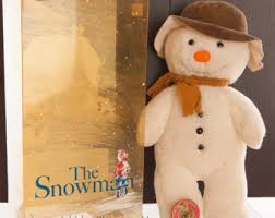 royal doulton the snowman 20cm plate walking in the