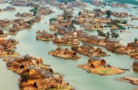 Floating Houses The Mesopotamian Venice The Lost Floating Homes Of Iraq