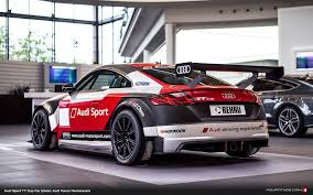 audi sports car audi sport tt cup car adds excitement to audi forum neckarsulm