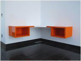 corner floating desk home design ideas