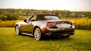 2017 fiat 124 spider abarth 2017 fiat 124 spider lusso road test with specs horsepower and price