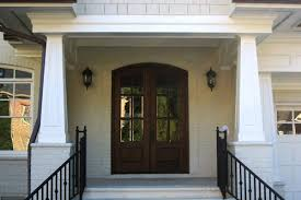 craftsman style porch tapered porch columns craftsman style 8 houzz 18 pvc curb appeal