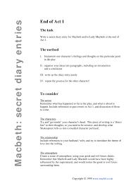 Ks3 Forces Worksheet Ks3 Macbeth Teachit English