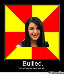 Rebecca Black Friday Meme - rebecca black bullied for song friday by endergirlstudios meme