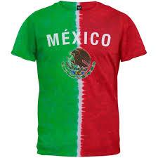 mexican flag tie dye t shirt ebay