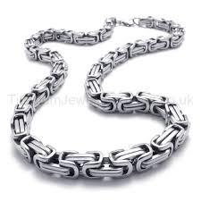 titanium necklace men images Two layer link mens titanium necklace 20288 109 titanium jpg
