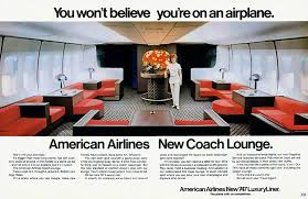 1971 american american airlines new 747 luxury liner aviation