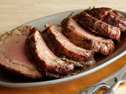roast prime rib with thyme au jus recipe bobby flay food network