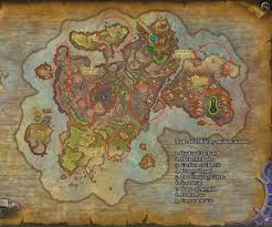 World Of Warcraft Maps by Map I Made For