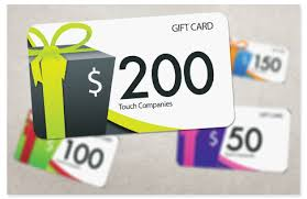 gift card gift cards touch companies