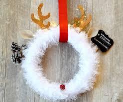rudolph christmas wreath diy u2013 mama in a stitch