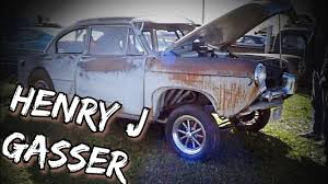 nomad drag car bad a gasser survivor henry j drag car youtube