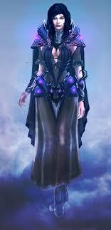 female wizard of ovl necromantic guild by igor esaulov on deviantart