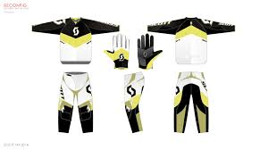 motocross jersey design scott mx u2014 graphics on behance