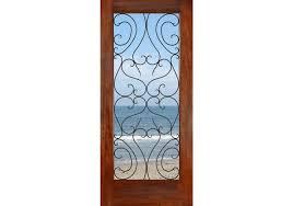 full glass entry door fd1lspain mahogany spain full lite 1 3 4