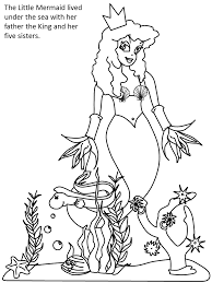 mermaid color1 cartoons coloring pages u0026 coloring book