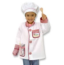 chef costume chef play costume set doug