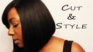 chin cut hairbob with cut in ends live hair bob cut style how to cut a bob easy youtube