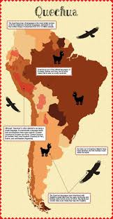 Map Of South America In Spanish by