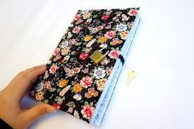 diy diary notebook lock under 5 minutes u2013 with pics miss caly