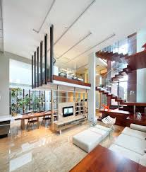 House Design Image Inside Indonesia Luxury Homes Living Large On A Small Site Open