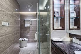interieur salle de bain moderne luxe intérieur hôtel de salle de bains et de meubles haut de gamme