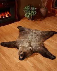 bear skin rugs polar bear grizzly bear buffalo hide bear rugs