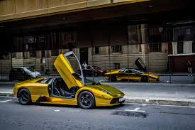 gold chrome lamborghini lamborghini murcielago gold chrome coupe vinyl wrap cars supercars
