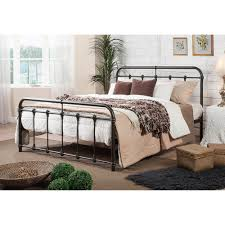 wrought iron beds u0026 headboards bedroom furniture the home depot