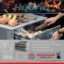 Chefb O Chad O Chef 4 Burner Hybrid Braai Wood Gas Charcoal Gas Extreme