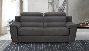 canap relax tissus 3 places relaxo canape 3 places relax electrique cuir ou tissu avec systeme