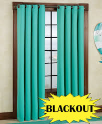 Teal Eyelet Blackout Curtains Creative Of Teal Blackout Curtains And Amazlinen Sleep Well