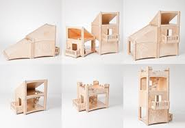 Miniature Dollhouse Plans Free by Best Eco Friendly Dollhouses From Modern Design To Whimsically