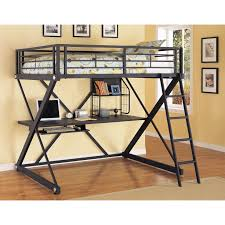 Bunk Bed With A Desk Underneath by Bed With Desk And Closet Fabulous Twin Loft Bed With Desk And