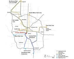 denver light rail expansion map som unveils sweeping bus concourse for denver s redeveloped union
