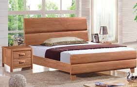 solid wood twin bed in bohemian style glamorous bedroom design