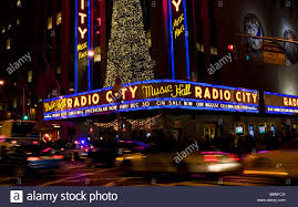 outside christmas lights christmas lights are seen on the outside of the radio city