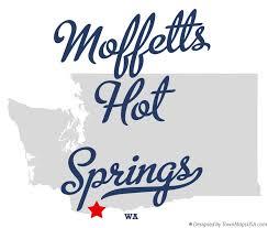 springs washington map map of moffetts springs wa washington