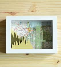 Map Of Portland by Portland Paper Cut Shadow Box Shadow Box Portland And Box