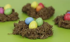 Easter Chocolate Easter Chocolate Nests Kids Craft Room