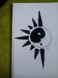 yin yang moon and sun by alexandramanthos on deviantart