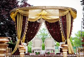 mandap decorations princeton nj indian wedding by tara sharma photography maharani