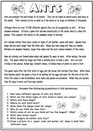 ant coloring pages classroom activities