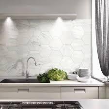 hexagon tile kitchen backsplash kitchen small white hex kitchen backsplash 20 stylish hexagon