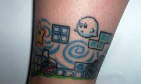 nintendo tattoo boo by lemon e fresh on deviantart