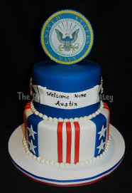 navy welcome home cakecentral com