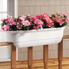 planters marvellous railing planter boxes adjustable railing